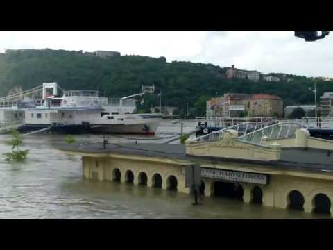 Budapest Floods 11/06/2013 Vigado Ter_Best travel videos of the week, no flights ticket required