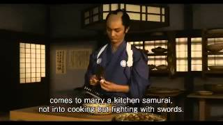 Nonton A Tale of Samurai Cooking   A True Love Story Official Trailer (2014) Film Subtitle Indonesia Streaming Movie Download