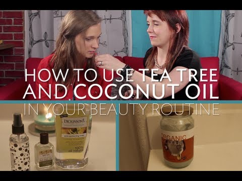 how to tea tree oil for hair