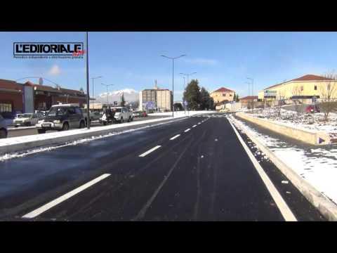 Inaugurazione nuovo lotto Viale Corrado IV