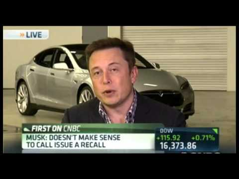 tesla - Elon Musk updates investors on Tesla's remedy and future plans with the Model X & Model E. This interview was on January 14th 2014. Twitter: http://www.twitt...
