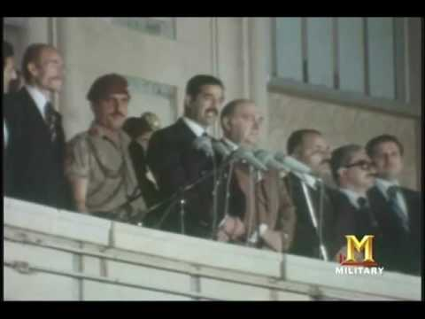 [SFW] Video of how in 1979 Saddam Hussein took power and executed half his fellow party members, narrated by Christopher Hitchens