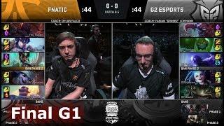 Video Fnatic vs G2 eSports | Game 1 Grand Final S8 EU LCS Spring 2018 | FNC vs G2 G1 MP3, 3GP, MP4, WEBM, AVI, FLV Juni 2018