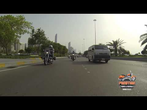 Sam, Nick, Craig on Abu Dhabi Yas Island Tour
