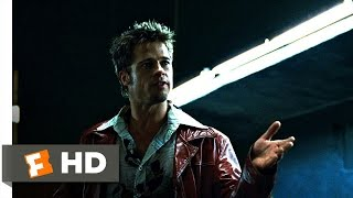 Fight Club (1/5) Movie CLIP   I Want You to Hit Me (1999) HD