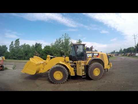 CATERPILLAR CARGADORES DE RUEDAS 980K equipment video CR5UYHJd45M