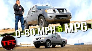 New 2020 Nissan Frontier Delivers Very Surprising Real-World Results: It's Both Good & Bad! by The Fast Lane Truck