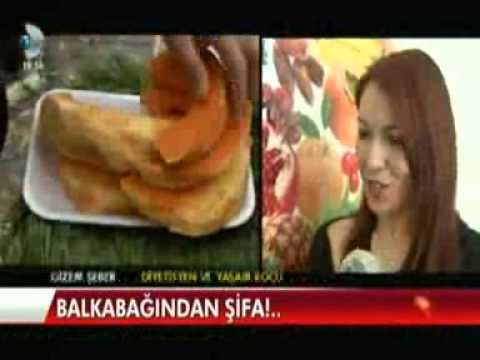 Diyetisyen ve Yaşam Koçu Gizem ŞEBER, 13 Ocak 2014'te Kanal D Ana Haber'de Bal kabağının sağlığa olan faydalarını anlattı.