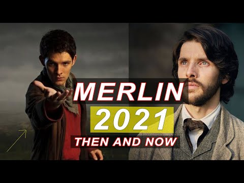 Merlin cast then and now (2021)!