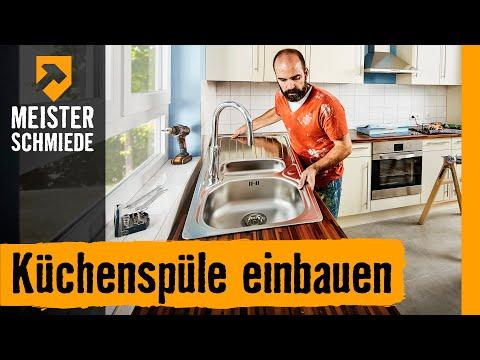 Küchenspüle einbauen | HORNBACH Meisterschmiede