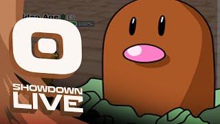 Pokemon OR/AS! LC Showdown Live w/PokeaimMD, Chimp, Emvee & Gator! Stuck in a cave like by PokeaimMD