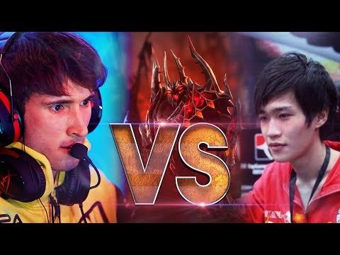 LEGEND vs LEGEND - YaphetS vs Dendi - EPIC Shadow Fiend Gameplay Compilation Battle Dota 2