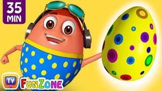 Video Learn YELLOW Colour with Johny Johny Yes Papa | Surprise Eggs Colors Ball Pit Show | ChuChuTV 3D Fun MP3, 3GP, MP4, WEBM, AVI, FLV Juni 2019