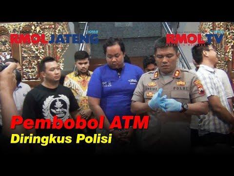 Pembobol ATM Diringkus Resmob Polrestabes Semarang