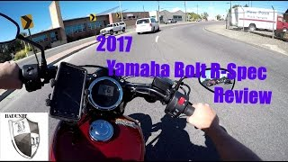 7. 2017 YAMAHA BOLT R-Spec Review