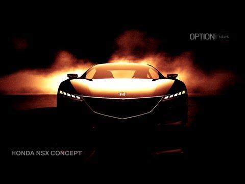 Honda  Женевский автосалон 2012 Honda NSX Concept 2012