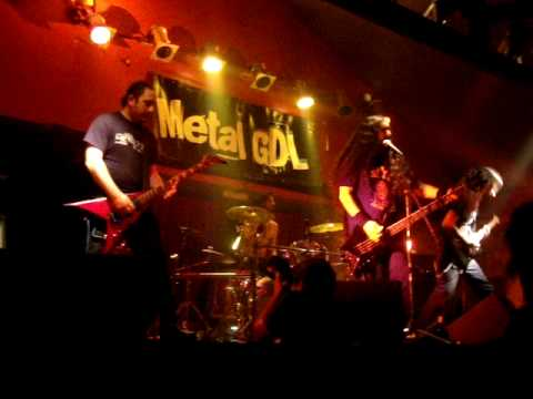 Theriomorphic - Beast Brigade @ Warm Up Metal GDL online metal music video by THERIOMORPHIC