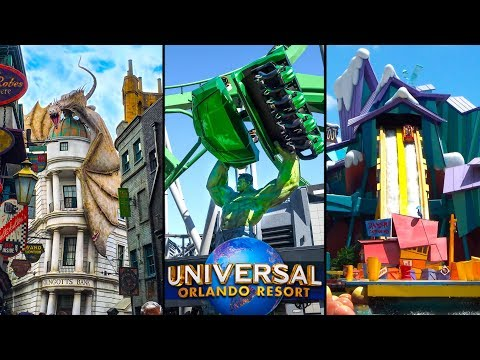 Top 10 Fastest Rides at Universal Orlando!  Universal Studios Florida & Islands of Adventure