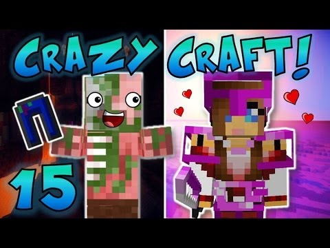 Minecraft: Crazy Craft Ep. 15 – GIRLFRIEND STOLE MY PANTS! (FUNNY!)