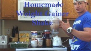High-Calorie Nutrient-Dense Weight Gainer Shake: Homemade Recipe