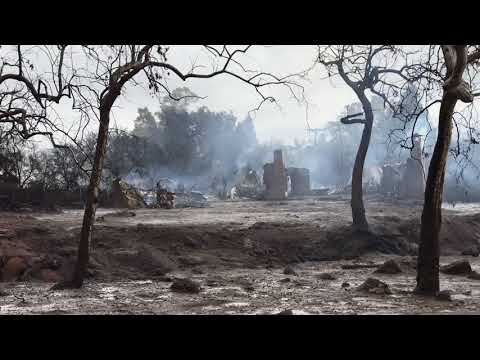 Ranch destroyed by mudslide