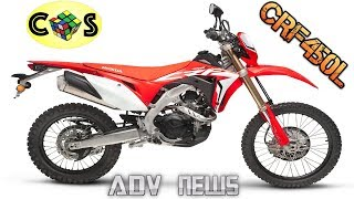 2. ADVENTURE NEWS: HONDA CRF450L Special Report