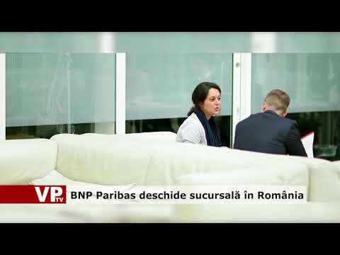 BNP Paribas deschide sucursală în România