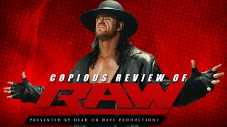 Nonton Wwe Raw 2 29 2016 Live Review   Undertaker Returns    For 30 Seconds  Film Subtitle Indonesia Streaming Movie Download