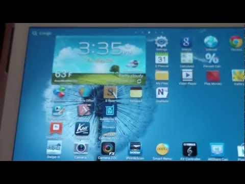 SAMSUNG GALAXY NOTE 10.1 QUICK REVIEW N8000 N8010 N8013