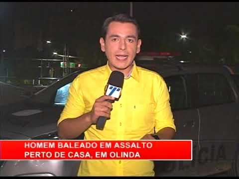 [RONDA GERAL] Homem baleado em assalto perto de casa, em Olinda