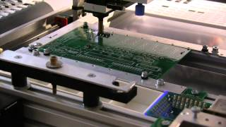 Homemade SMD Pick and Place Machine - complete cycle
