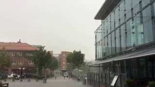 Asker Norway  City new picture : Freak Heavy Rain in Asker Norway 2014