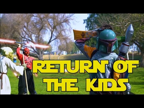 Return Of The Kids - How Kids Play Star Wars 2