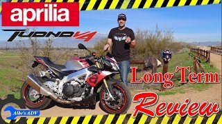 4. Aprilia Tuono V4 1100RR long term review