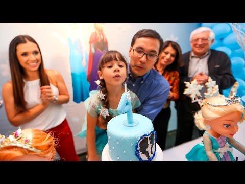Festa de Aniversario da Lulu 4 Anos tema Frozen [4k UHD]