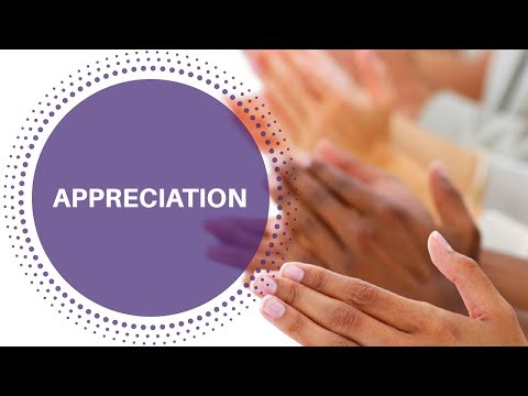 Appreciation For Yourself And Others