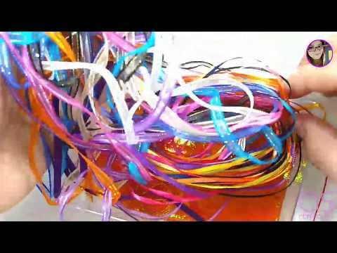 Uñas acrilicas - Dips System con cintas encapsuladas  Uñas sin monómero  DISEÑO ARCOIRIS