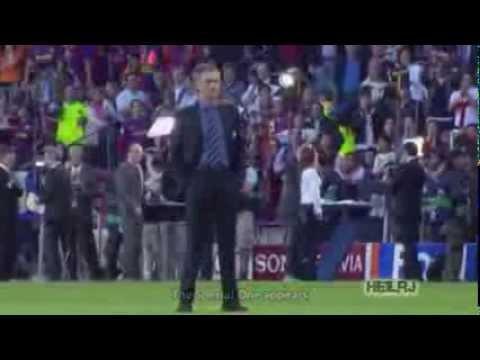 Messi vs Mourinho (видео)
