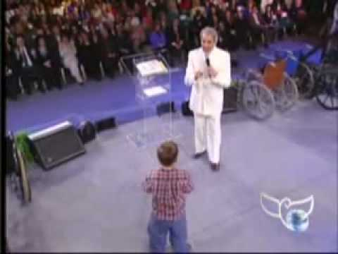 Benny Hinn - Little Boy receives God's Power