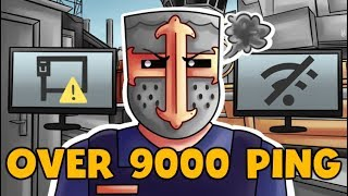 HIGH PING CSGO MOMENTS