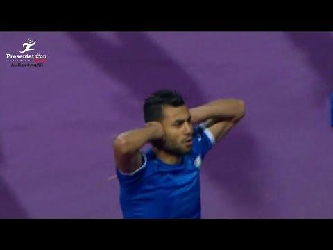 العرب اليوم - شاهد : حسام حسن يحرز الهدف الأول لسموحة أمام الزمالك