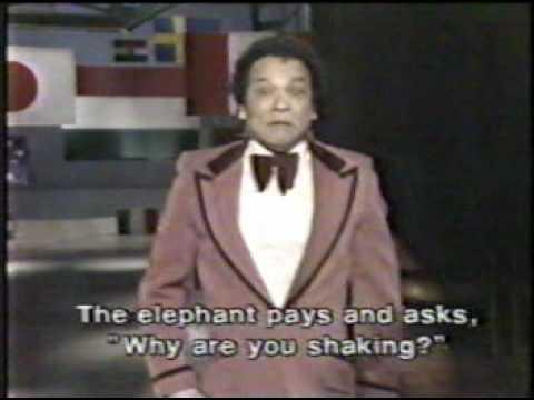 'Melcochita' sí apareció en el show de David Letterman en el año 1983