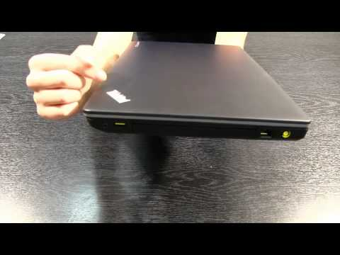 CCLOnline: Lenovo Thinkpad Edge E530 Unboxing and Overview