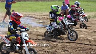 3. 4 Year Old KTM 50 MINI Rider racing 2017 Motocross Season