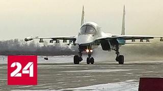 Истребителям Су-34 морозы не страшны