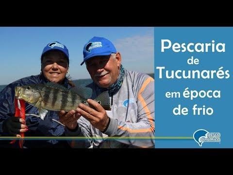 Pescaria de Tucunarés em época de frio na represa Porto Primavera