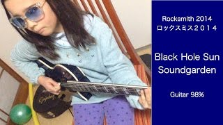 Audrey (11 years old) plays - Black Hole Sun - Soundgarden- 98% on ROCKSMITH2014. From Soundgarden DLC just released!!! Had to play before going to school!!!...