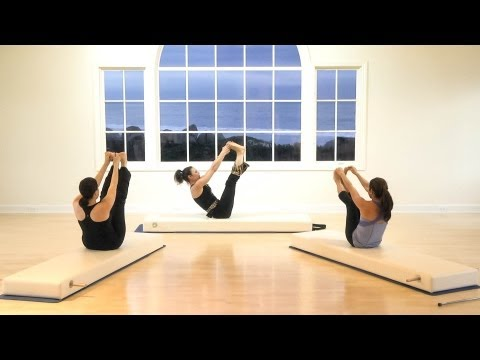 Kathryn Ross-Nash Advanced Pilates Mat Class