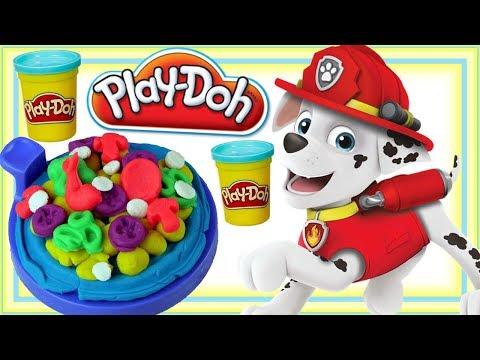 Play Doh & Psi Patrol • Kolorowa pizza • kreatywne zabawki