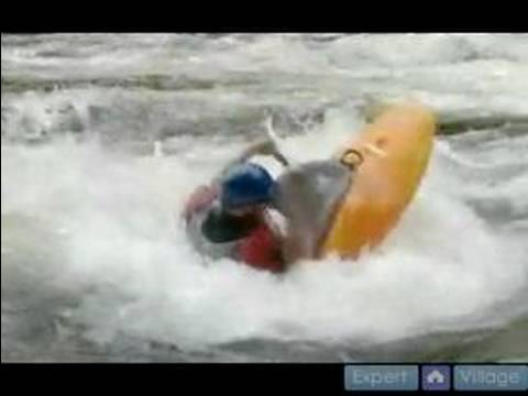 Advanced Kayaking: Playing in Holes : Doing the Fast Cartwheel Trick for Advanced Kayaking